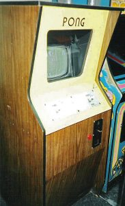 Arcade-Automat von Pong: Eine frühe Quelle der Computerspielmusik