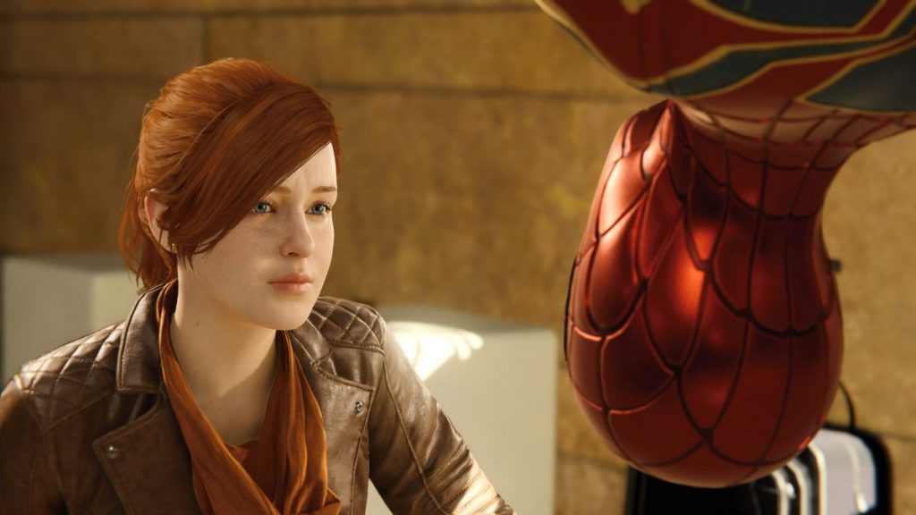 Screenshot von Spider-Man (PS4): Mary-Jane und Spider-Man