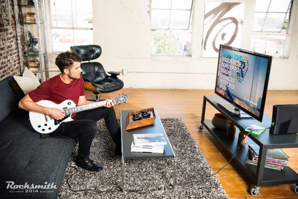 Rocksmith: Musizieren im Wohnzimmer. Bildquelle: Ubisoft