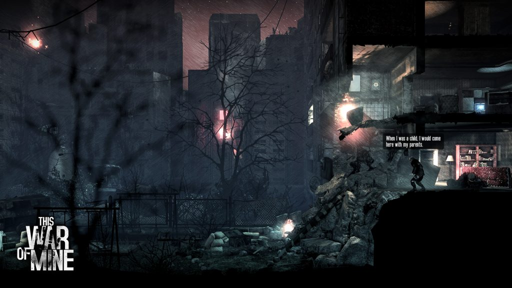 Bildquelle: This War of Mine/11 bit Sudios.