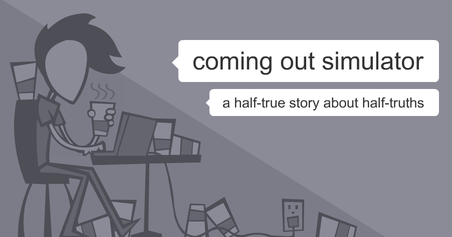 Bildquelle: Coming Out Simulator / Nicky Case