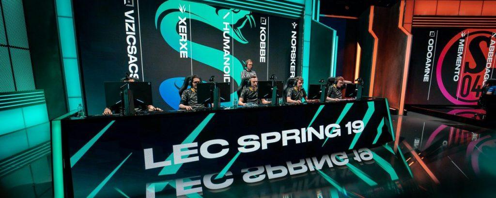 Leagoe of Legends LEC Frühjahrs-Split 2019   Bildquelle: Riot Games / lolesport